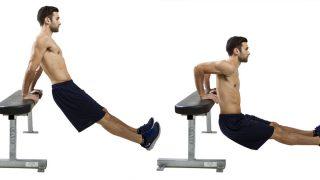 ディップスの効果とやり方!大胸筋・上腕三頭筋・背筋に効く筋トレ