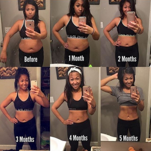 筋トレの1ヶ月,2ヶ月,3ヶ月,4ヶ月,5ヶ月後の変化
