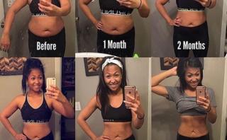 筋トレの体型変化は3ヶ月?効果が出る期間を劇的変化画像とともに紹介!