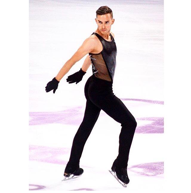 フィギュアスケートのアダムリッポン選手