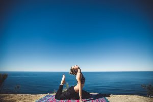 female-yoga-sea