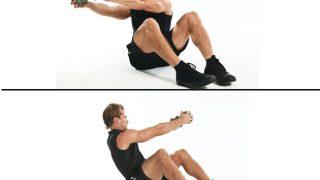ダンベルツイストの効果とやり方!腹斜筋を鍛えて美しいくびれに!