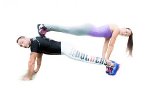 push-up- man-woman