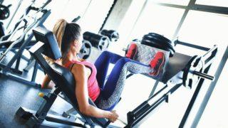 【女性向け】レッグプレスのやり方!太くなるのを防いで美脚になるコツ
