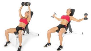 【女性向け】ダンベルフライのやり方!大胸筋へ効かせるコツや重さを解説
